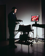 Suiren Wan conducts laparoscopy surgery at The Touch Lab at MIT Laboratory for Human and Machine Haptics.