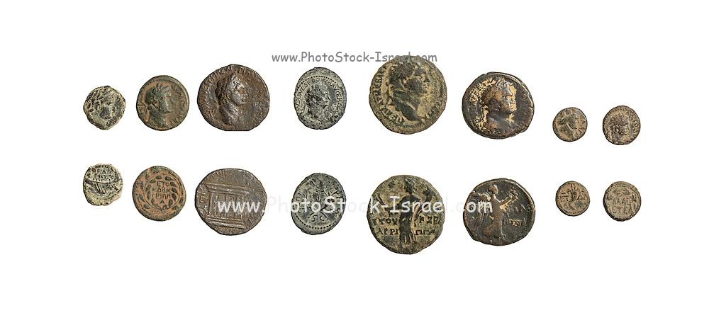 Herod Agrippa II bronze coins 1st century CE