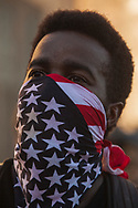 Anti-police violence demonstrations held in Los Angeles. Local residents are upset about a recent rise in police shootings by LAPD and LASD.<br /> This demonstration was held in South Los Angeles, an area mostly populated by minorities and the poor.