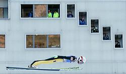31.12.2016, Olympiaschanze, Garmisch Partenkirchen, GER, FIS Weltcup Ski Sprung, Vierschanzentournee, Garmisch Partenkirchen, Qualifikation, im Bild Stefan Hula (POL) // Stefan Hula of Poland during his Qualification Jump for the Four Hills Tournament of FIS Ski Jumping World Cup at the Olympiaschanze in Garmisch Partenkirchen, Germany on 2016/12/31. EXPA Pictures © 2016, PhotoCredit: EXPA/ Jakob Gruber