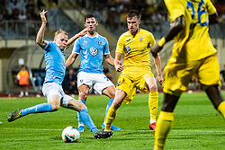 Gaber Dobrovoljc of NK Domzale during Football match between NK Domzale and Malmo FF in Second Qualifying match of UEFA Europa League 2019/2020, on July 25th, 2019 in Sports park Domzale, Domzale, Slovenia. Photo by Grega Valancic / Sportida