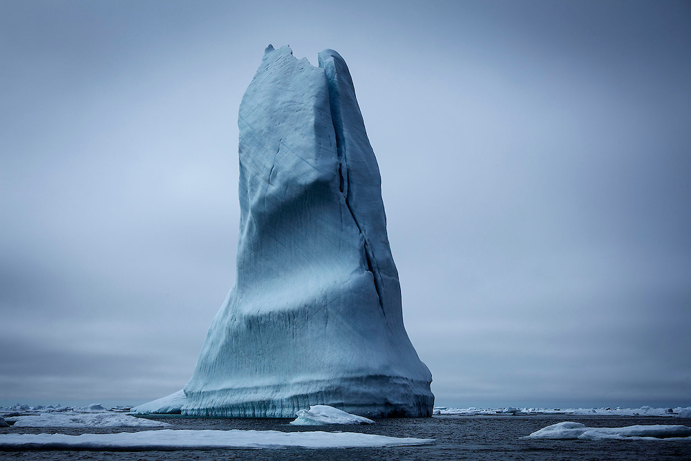 FOR MAIN ARCTIC GALLERY-TRAVEL SECTION<br /> Ice bergs float in the ice pack near Baffin Island, Nunavut, July 23, 2015. Photograph by Todd Korol for The Toronto Star