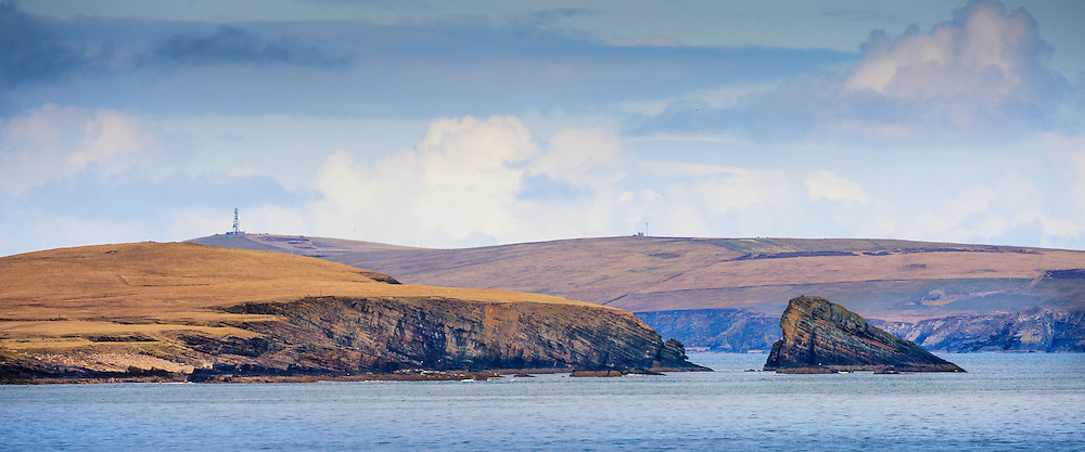 The coastline of the island of Swona in the Pentland Firth, situated between Orkney and the Scottish mainland<br /> <br /> (c) Andrew Wilson   Edinburgh Elite media