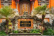 Balai Banjar Ubud Kelod temple, Ubud, Bali, Indonesia