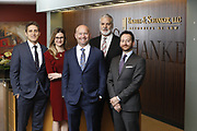 SHOT 1/8/19 12:19:42 PM - Bachus & Schanker LLC lawyers James Olsen, Maaren Johnson, J. Kyle Bachus, Darin Schanker and Andrew Quisenberry in their downtown Denver, Co. offices. The law firm specializes in car accidents, personal injury cases, consumer rights, class action suits and much more. (Photo by Marc Piscotty / © 2018)