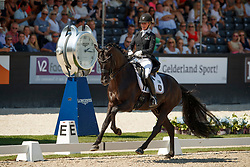 Freese Isabel, NOR, Fuersten Look<br /> World ChampionshipsYoung Dressage Horses<br /> Ermelo 2018<br /> © Hippo Foto - Dirk Caremans<br /> 03/08/2018