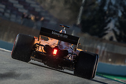 March 7, 2018 - Barcelona, Catalonia, Spain - FERNANDO ALONSO (ESP) takes to the track in his McLaren MCL33 during day six of Formula One testing at Circuit de Catalunya (Credit Image: © Matthias Oesterle via ZUMA Wire)