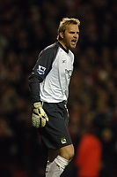 Photo: Paul Greenwood.<br />Liverpool v Manchester City. The Barclays Premiership. 25/11/2006. Manchester City's goalkeeper Nicky Weaver reacts after Steven Gerrards goal.
