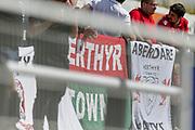 MERTHYR TYDFIL, WALES - 12 AUGUST 2017 - Merthyr Town v Hitchin Town, Southern Premier League fixture, Penydarren Park, Merthyr Tydfil, Wales. <br /> <br /> Game Finished 0 - 0 draw.