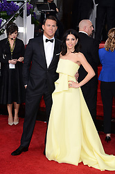 Channing Tatum and Jenna Dewan Tatum arriving at the 72nd annual Golden Globe Awards held at the Beverly Hilton in Beverly Hills, Los Angeles, CA, USA, January 11, 2015. Photo By Lionel Hahn/ABACAPRESS.COM