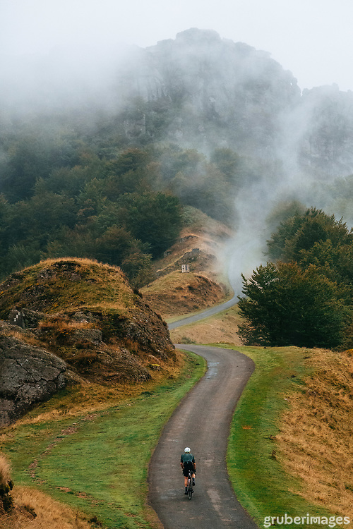 Somewhere in the French Basque Country - a tiny climb called the Errozate. So hard. So beautiful.
