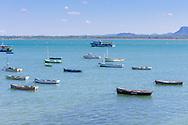 Boats in Gibara, Holguin, Cuba.