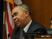 Rep. William Clay (D-MO) listens at a Congressional hearing examining lessons from the civil rights movement on combating efforts to suppress the right to vote and how many of these lessons are particularly urgent in the face of similar voter suppression efforts today.