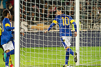 Malmö  2012-10-11  Fotboll  Landskamp  Brazil    - Iraq   :  Brazil 10 Oscar.(Foto: Christer Thorell, Pic-Agency.com) Nyckelord : fotboll , football , soccer , Landskamp , Herrar , Men , Brazil , Iraq , .