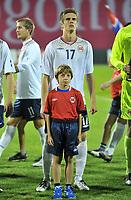 Fotball , 12. oktober 2010 , Privatkamp<br /> 12.10.2010., stadium Maksimir, Zagreb, Croatia - Norway. <br /> Markus Henriksen , Norge<br /> <br /> <br /> Norway only