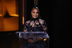 Janet Jackson at 'Black Girls Rock' in Newark New Jersey on August 26, 2018.