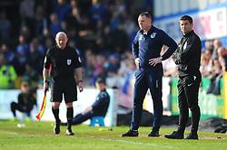 Bristol Rovers manager Graham Coughlan looks on- Mandatory by-line: Nizaam Jones/JMP - 30/03/2019 - FOOTBALL - Memorial Stadium - Bristol, England - Bristol Rovers v Luton Town - Sky Bet League One