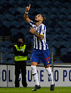 Alex Telles of Porto celabrates Pepe's goal during the Portuguese League (Liga NOS) match between FC Porto and Maritimo at Estadio do Dragao, Porto, Portugal on 3 October 2020.