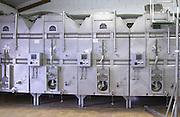 Fermentation tanks. Domaine Bertagna, Vougeot, Cote de Nuits, d'Or, Burgundy, France