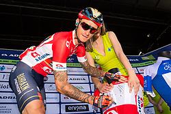 Grega Bole (SLO) of Bahrain - Merida during 3rd Stage of 26th Tour of Slovenia 2019 cycling race between Zalec and Idrija (169,8 km), on June 21, 2019 in Slovenia. Photo by Matic Klansek Velej / Sportida