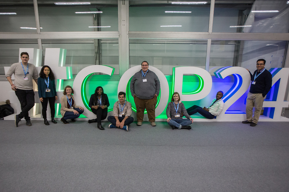The Lutheran World Federation delegation to COP24 in Katowice, Poland.