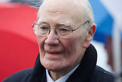 Menzies Campbell, former Liberal Democrat leader, at the launch of the party's general election campaign at Cramond, Edinburgh. Pic: Terry Murden @edinburghelitemedia