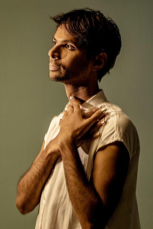 Netherlands. Amsterdam, 31-08-2020. Photo: Patrick Post. Portret van dirigent Manoj Kamps, hij debuteert bij De Nationale Opera.