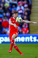 Wales defender Ben Davies during the UEFA European 2020 Qualifier match between Wales and Slovakia at the Cardiff City Stadium, Cardiff, Wales on 24 March 2019.