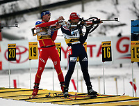 Biathlon, 09. december 2004, World Cup, Oslo, Gro Marit Istad Kristiansen , Norge
