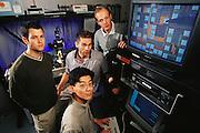 Micro Technology: University of California, Berkeley: Kris Pister Team - Micromanipulator Probe station testing micro machined chips. Model Released [2000]