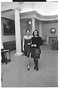 RACHEL TARNOY, SIMONE KUBES, Virago's reception, Old Library. Lady Margaret Hall, Oxford. May 1988