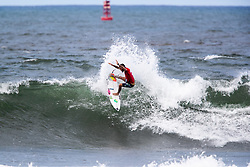 Felipe Toledo of Brazil advances to round 4 after placing second in round 3 heat 8 of the 2018 Hawaiian Pro at Haleiwa, Oahu, Hawaii, USA.