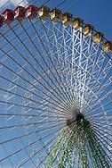 Enormous ferris wheel during Feria-- Seville, Spain
