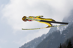 Noriaki Kasai (JAP) during Ski Flying Hill Men's Team Competition at Day 3 of FIS Ski Jumping World Cup Final 2017, on March 25, 2017 in Planica, Slovenia. Photo by Vid Ponikvar / Sportida