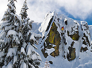 """Eric Bryant enters """"The Gate""""<br /> Squaw Valley USA"""