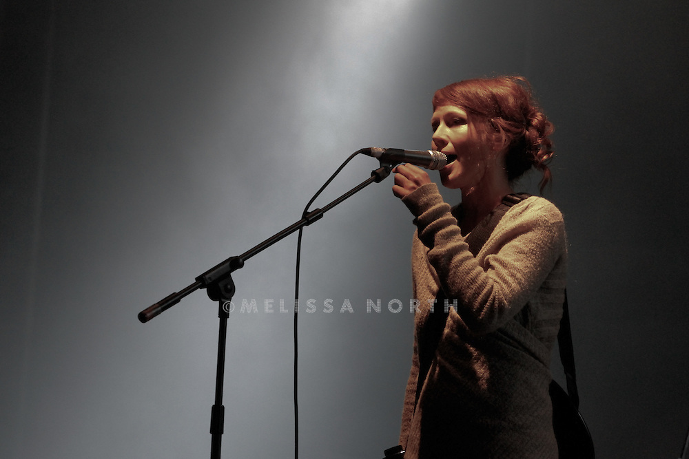 Lou Rhodes of Lamb performs live on stage at Standon Calling, Herts, UK on 13 August 2011. JPH/B2779