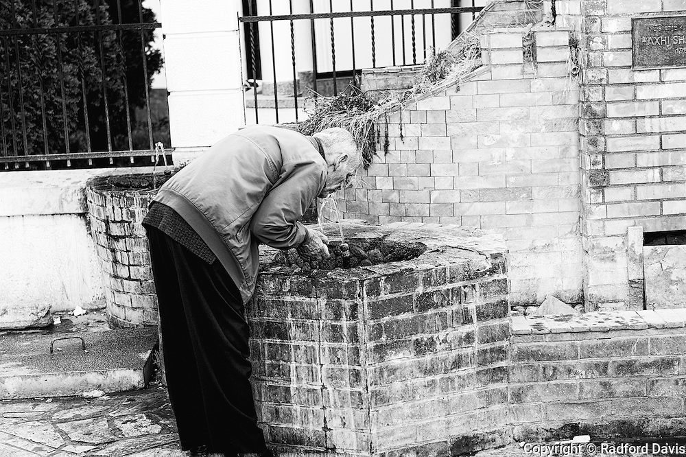 Healing waters in Skopje, Macedonia