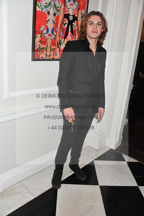 FREDERICK WIMSETT at a party to celebrate thelaunch of Alice Temperley's flagship store Temperley, Bruton Street, London on 6th December 2012.