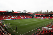 The Valley during the EFL Sky Bet League 1 match between Charlton Athletic and AFC Wimbledon at The Valley, London, England on 15 December 2018.