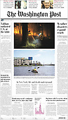 September 05, 2021 - USA: Front-page: Today's Newspapers In United States