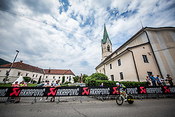 during 5th Time Trial Stage of 25th Tour de Slovenie 2018 cycling race between Trebnje and Novo mesto (25,5 km), on June 17, 2018 in  Slovenia. Photo by Vid Ponikvar / Sportida