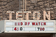 Teton Theater, Jackson, Wyoming