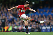 Ander Herrera of Manchester United in action. Premier league match, Chelsea v Manchester Utd at Stamford Bridge in London on Sunday 23rd October 2016.<br /> pic by John Patrick Fletcher, Andrew Orchard sports photography.