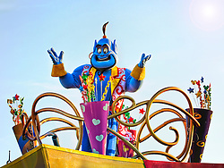 Aladdin Genie at Walt Disney World.