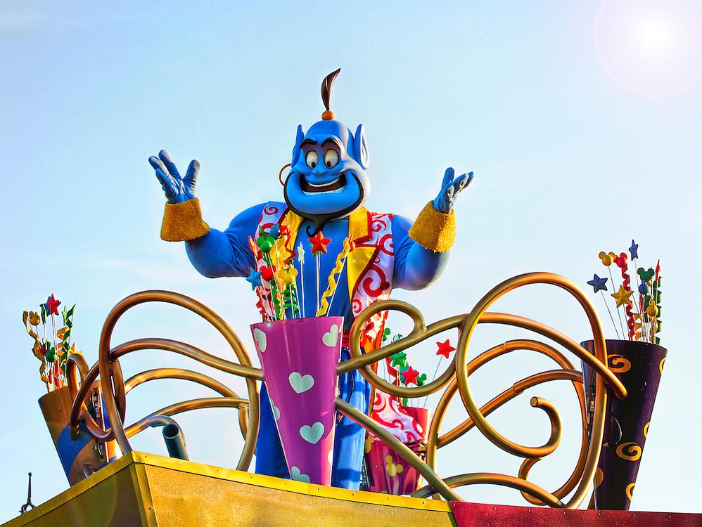 Aladdin Genie at Walt Disney World.
