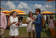 EMILY PEARSON; LYDIA BARLOW; HUGO CORDLE 2004 Veuve Clicquot Gold Cup Final at Cowdray Park Polo Club, Midhurst. 20 July 2014