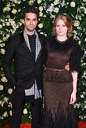 Maximilian Befort and Emily Beecham arriving at the Charles Finch Filmmakers Dinner, Eden Rock, Hotel du Cap during the 72nd Cannes Film Festival. Photo credit should read: Doug Peters/EMPICS