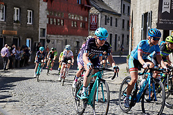 Hannah Payton (GBR) at La Flèche Wallonne Femmes 2018, a 118.5 km road race starting and finishing in Huy on April 18, 2018. Photo by Sean Robinson/Velofocus.com