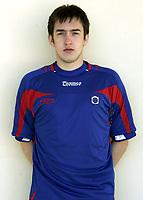 Fotball / Football<br /> La Manga - Spain<br /> 19.03.2007<br /> Portrett Portretter Tromsdalen / TUIL<br /> Foto: Morten Olsen, Digitalsport<br /> <br /> Milos Vucenovic