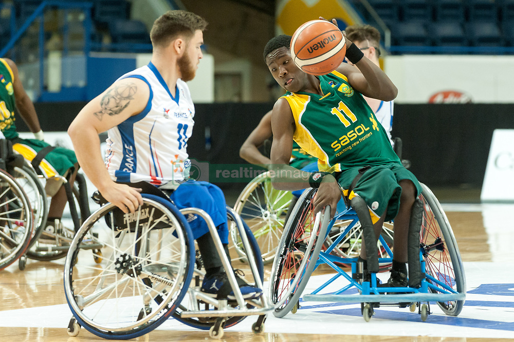 January 8, 2007 - Toronto, Ontario, Canada - Players on the field during the basketball game - South Africa vs France  during 2017 Men's U23 World Wheelchair Basketball Championship which takes place in Ryerson's Mattamy Athletic Centre, Toronto, ON, in June 08 -16, 2017  (Credit Image: © Anatoliy Cherkasov/NurPhoto via ZUMA Press)